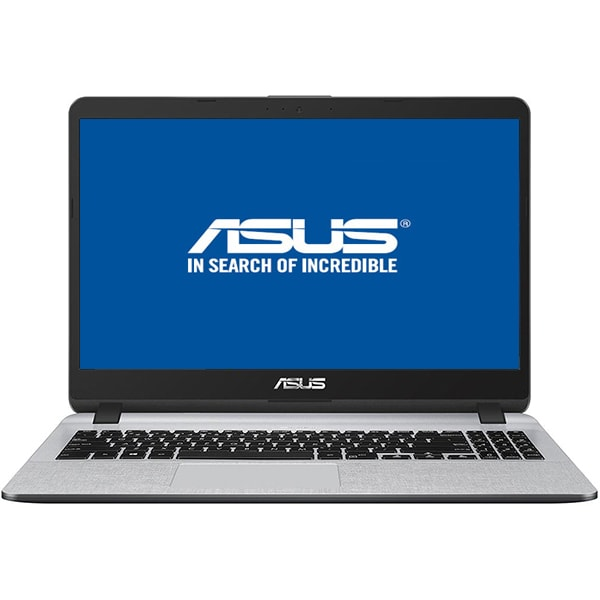 "Laptop ASUS X507UA-EJ830, Intel® Core™ i7-8550U pana la 4.0GHz, 15.6"" Full HD, 8GB, SSD 256GB, Intel UHD Graphics 620, Endless, Star Grey"