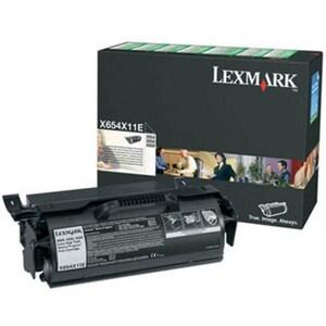 Toner LEXMARK XXL X654X11E X654/6 Return Program, negru