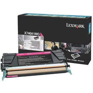 Toner LEXMARK X746A1MG X746/X748Return Program, magenta