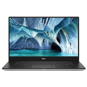 "Laptop DELL XPS 15 7590, Intel Core i9-9980K pana la 5.0GHz, 15.6"" 4K Touch, 32GB, SSD 1TB, NVIDIA GeForce GTX 1650 4GB, Windows 10 Pro, argintiu"