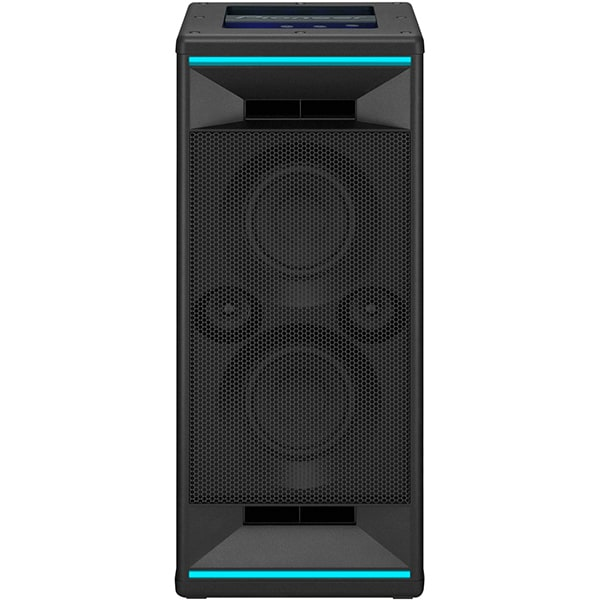 Sistem audio High Power PIONEER Club5 XW-SX50, 200W, Bluetooth, USB, Party Chain, LED iluminare, negru