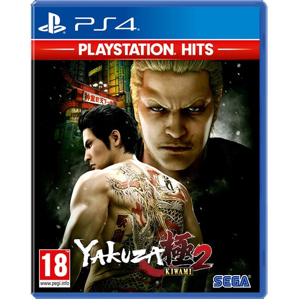 Yakuza Kiwami 2 PlayStation Hits PS4