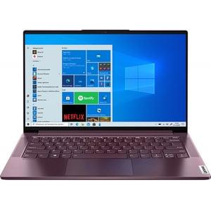 "Laptop LENOVO Yoga Slim 7 14ITL05, Intel Core i7-1165G7 pana la 4.7GHz, 14"" Full HD, 16GB, SSD 512GB, Intel Iris Xe Graphics, Windows 10 Home, Orchid"