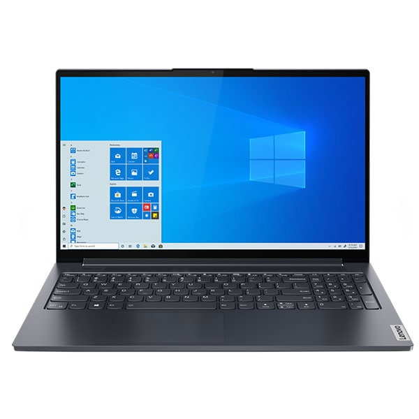 "Laptop LENOVO Yoga Slim 7 15IIL05, Intel Core i5-1035G1 pana la 3.6GHz, 15.6"" Full HD, 16GB, SSD 512GB, NVIDIA GeForce MX350 2GB, Windows 10 Home, gri"
