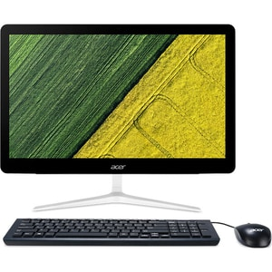 "Sistem PC All in One ACER Aspire Z24-880, 23.8"" Full HD Touch, Intel Core i5-7400T pana la 3.0GHz, 8GB, SSD 256GB, Intel UHD Graphics 630, Free Dos"