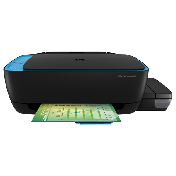 Multifunctional inkjet color HP Ink Tank 419 All-in-One CISS, A4, USB, Wi-Fi