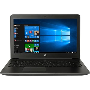 "Laptop HP ZBook 15 G3, Intel® Core™ i7-6700HQ pana la 3.5GHz, 15.6"" Full HD, 8GB, SSD 256GB, NVIDIA Quadro M1000M 2GB, Windows 10 Pro, Negru"
