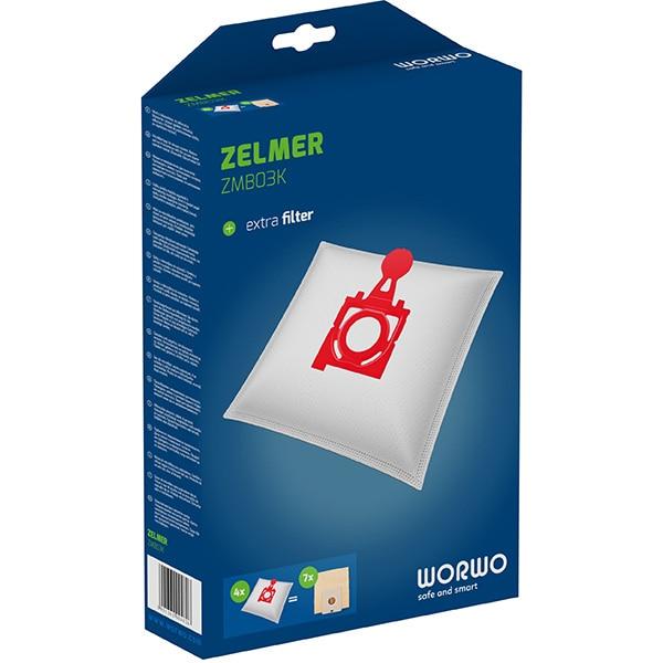 Kit WORWO ZMB03K: 4 saci + 1 filtru aspiratie
