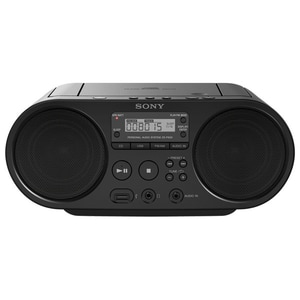 Radio CD portabil SONY ZS-PS50, FM, USB, negru