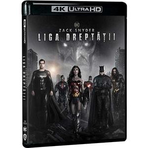 Zack Snyder's - Liga dreptatii Blu-ray 4K