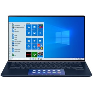 "Laptop ASUS ZenBook 14 UX434FLC-AI194R, Intel Core i7-10510U pana la 4.9GHz, 14"" Full HD Touch, 16GB, SSD 512GB, NVIDIA GeForce MX250 2GB, Windows 10 Pro, Royal Blue"