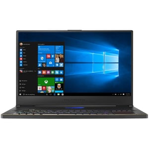 "Laptop Gaming ASUS ROG Zephyrus S17 GX701LV-HG008T, Intel Core i7-10750H pana la 5GHz, 17.3"" Full HD, 16GB, SSD 1TB, NVIDIAGeForceRTX2060 6GB, Windows 10 Home, negru"