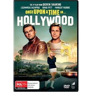 A fost odata la Hollywood DVD