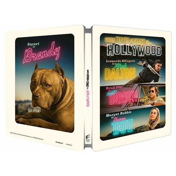 A fost odata la Hollywood Steelbook 4K Ultra Hd + Blu-Ray