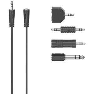 Adaptor Jack 3.5mm/6.3mm HAMA 205122, 2.5m, negru