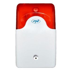 Sirena de interior wireless PNI A014 pentru sistem de detectie la efractie compatibil cu PNI PG200 2700A