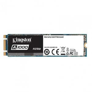 Solid-State Drive (SSD) KINGSTON A1000, 960GB, PCI Express x2, M.2 PCIE, SA1000M8/960G