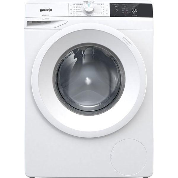 Masina de spalat rufe frontala GORENJE WE823, WaveActive, 8kg, 1200rpm, Clasa, A+++, alb