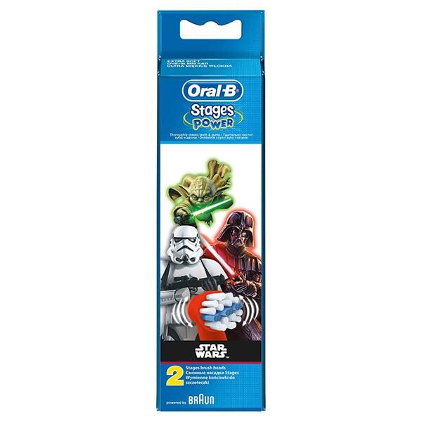 Rezerve periuta de dinti electrica pentru copii ORAL-B EB10 Star Wars, 2buc