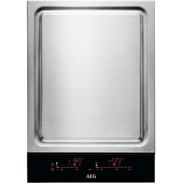 Plita incorporabila Teppanyaki AEG ITE42600KB, Inductie, Touch Control, negru