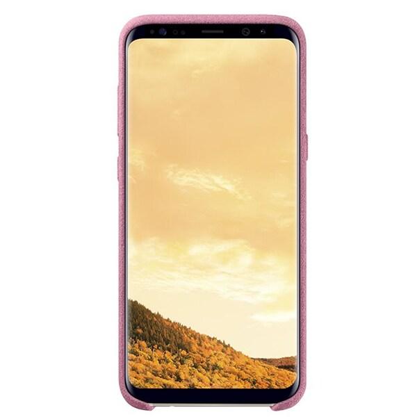 Carcasa Alcantara SAMSUNG Galaxy S8, EF-XG950APEGWW, Pink