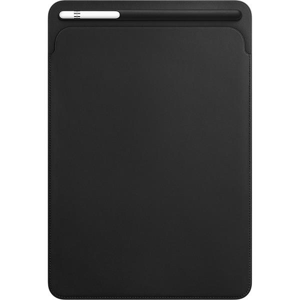 """Husa Leather Sleve pentru APPLE iPad Pro 10.5"""", MPU62ZM/A, piele, Black"""