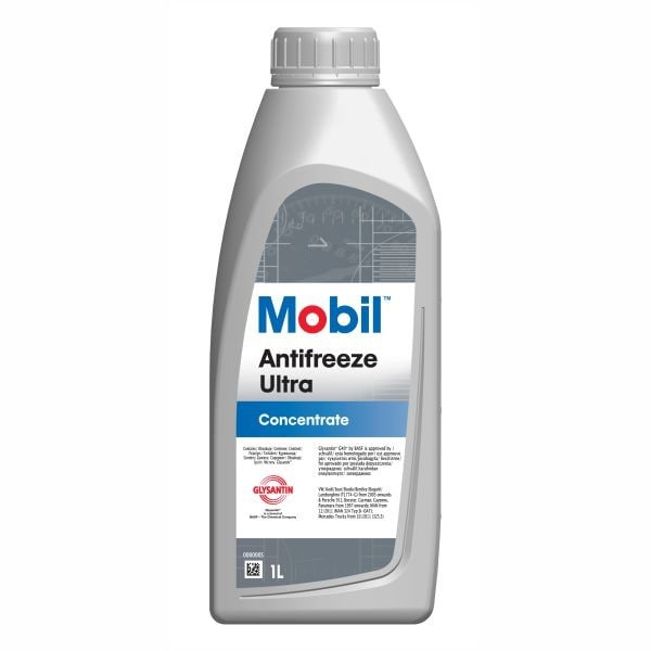 Antigel concentrat MOBIL Antifreeze Ultra, rosu-mov 1L