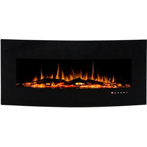 Focar electric 3D incorporabil ART FLAME Archy, 1500W, Telecomanda, negru