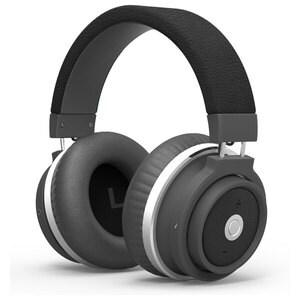 Casti PROMATE Astro, Bluetooth, Over-Ear, Microfon, negru