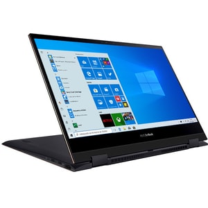 "Laptop 2 in 1 ASUS ZenBook Flip 13 UX371EA-HR017R, Intel Core i7-1165G7 pana la 4.7GHz, 13.3"" Full HD Touch, 16GB, SSD 1TB, Intel® Iris Xe Graphics, Windows 10 Pro, gri"