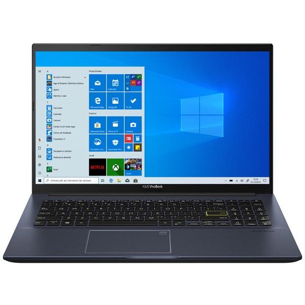 "Laptop ASUS VivoBook 15 M513IA-EJ056T, AMD Ryzen 5 4500U pana la 4.0GHz, 15.6"" Full HD, 8GB, SSD 512GB, AMD Radeon Graphics, Windows 10 Home, negru"