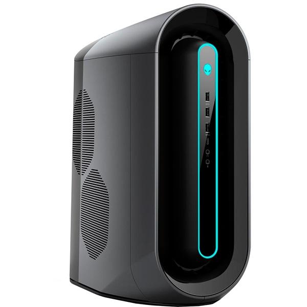 Sistem Desktop Gaming DELL Alienware Aurora R10, AMD Ryzen 9 5900X pana la 4.8GHz, 32GB, 1TB + SSD 512GB, NVIDIA GeForce RTX 3060 8GB, Windows 10 Pro, negru