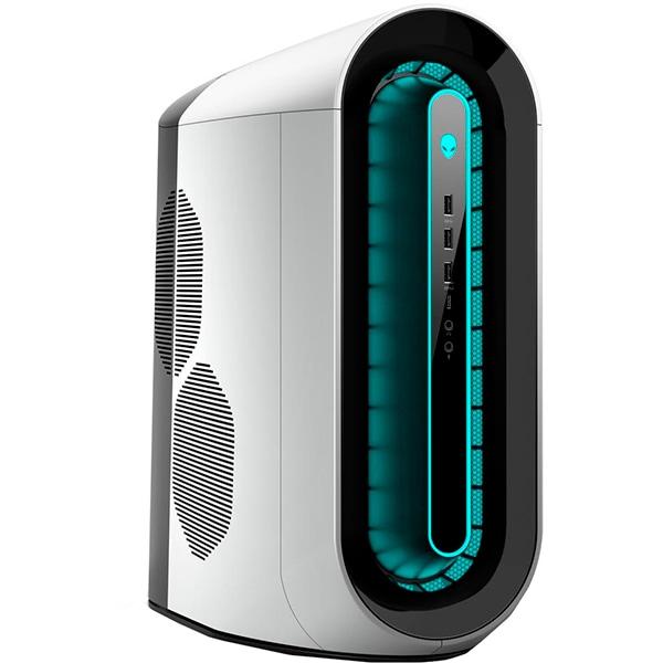 Desktop Gaming DELL Alienware Aurora R11, Intel Core i7-10700KF pana la 5.1GHz, 64GB, 1TB + SSD 512GB, NVIDIA GeForce RTX 2080 Super 8GB, Windows 10 Pro, gri-negru