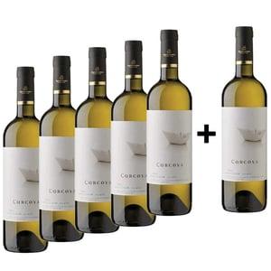 Vin alb sec Corcova Sauvignon Blanc, 0.75L, 5+1 sticle