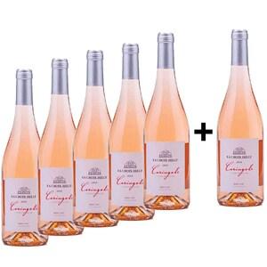 Vin rose sec La Croix Belle Caringole Rose, 0.75L, 5+1 sticle