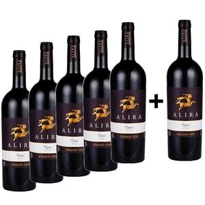 Vin rosu sec Alira Grand Vin Cuvee, 0.75L, 5+1 sticle
