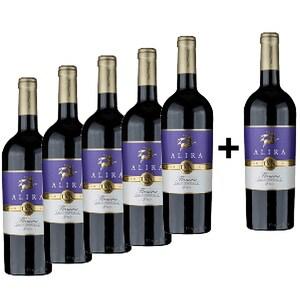 Vin rosu sec Alira Flamma Rosu Savuros, 0.75L, 5+1 sticle