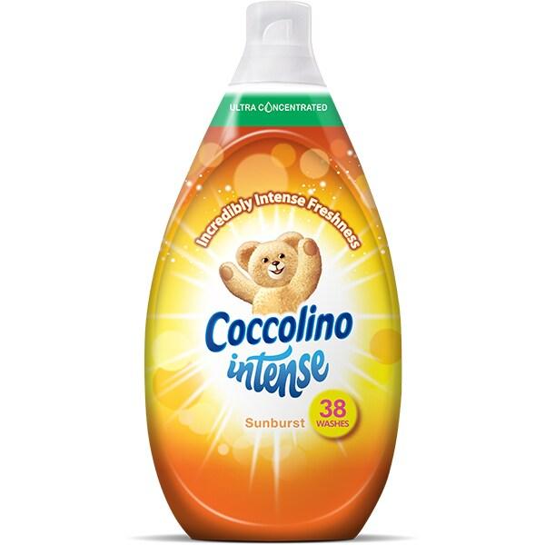 Balsam de rufe COCCOLINO Intense Sunburst, 570ml, 38 spalari
