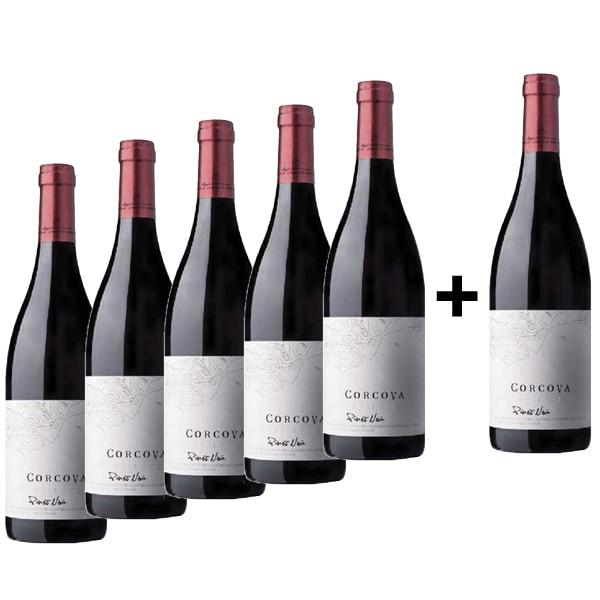 Vin rosu sec Corcova Reserve Pinot Noir, 0.75L, 5+1 sticle