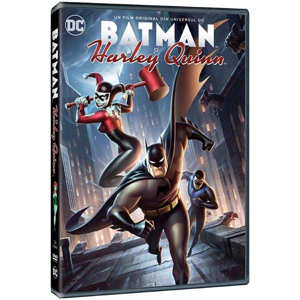 Batman si Harley Quinn DVD