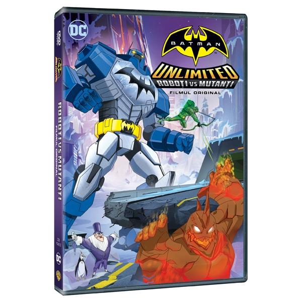 Batman Unlimited: Roboti vs mutanti Blu-ray