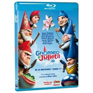 Gnomeo si Julieta Blu-ray 3D