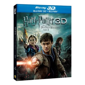 Harry Potter si Talismanele Mortii: Partea 2 Combo 3D + 2D Blu-ray
