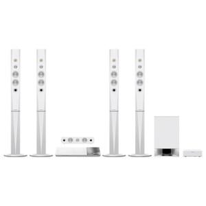 Sistem Home Cinema Blu-ray 3D SONY BDV-N9200WW, 5.1, 1200W, Wi-Fi, Bluetooth, NFC, Dolby, DTS, alb