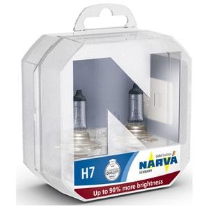 Bec auto far halogen NARVA 480472100, H7, Range Power+90, 12V, 55W, PX26D, set 2 bucati