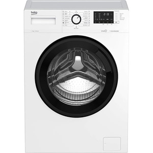 Masina de spalat rufe frontala slim BEKO WTV 7522 XCW, SteamCure, 7 kg, 1000rpm, Clasa D, alb
