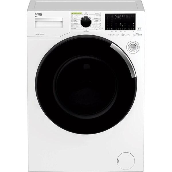Masina de spalat rufe frontala BEKO WTE 10746 CHT, Hygiene Shield, 10 kg, 1400rpm, Clasa A, alb