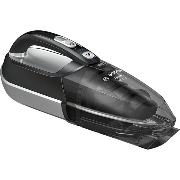 Aspirator de mana BOSCH BHN14090, 14.4V, autonomie max 12 min, High Airflow System, negru-argintiu