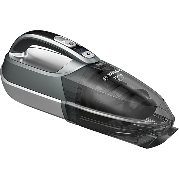 Aspirator de mana BOSCH BHN20110, 20.4V, autonomie max 16 min, High Airflow System, gri-argintiu