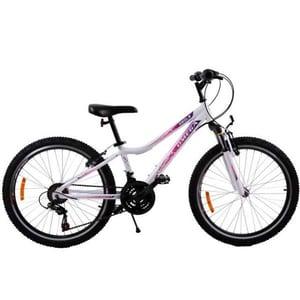 """Bicicleta copii OMEGA Angle, 24"""", alb"""